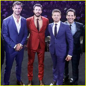 Chris Hemsworth & Chris Evans Assemble in Shanghai for 'Avengers: Endgame'!