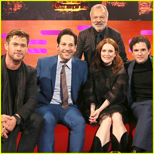 Chris Hemsworth, Paul Rudd, & Kit Harington Get Personal on 'Graham Norton' (Video)