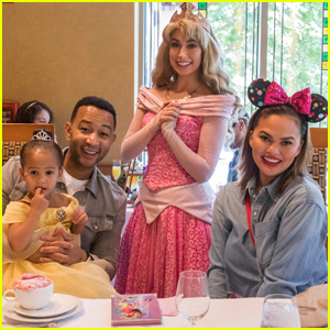 Chrissy Teigen & John Legend Celebrate Luna's Birthday Disneyland!