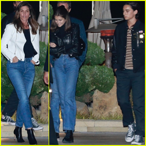 Cindy Crawford Grabs Dinner with Kaia Gerber & Boyfriend Wellington Grant