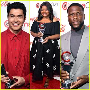 Henry Golding, Octavia Spencer, Kevin Hart & More Win at CinemaCon Awards