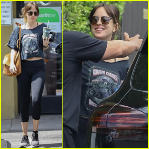 Dakota Johnson Meets Up With Her Trainer in Los Angeles