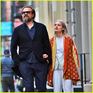 David Harbour & Girlfriend Alison Sudol Take a Stroll Together in NYC