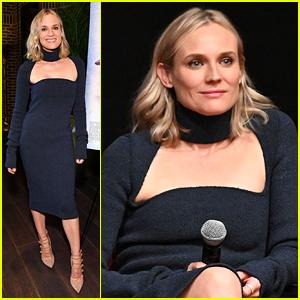 Diane Kruger Glams Up for 'JT LeRoy' New York Screening!