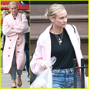Diane Kruger Goes Casual for New York City Stroll