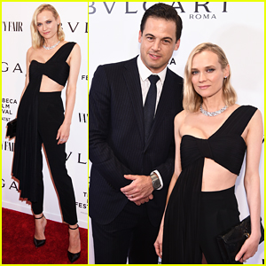 Diane Kruger Steps Out for BVLGARI World Premieres at Tribeca Film Festival!