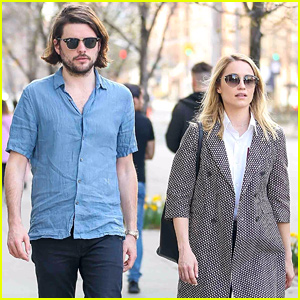 Dianna Agron & Husband Winston Marshall Take a Stroll in NYC