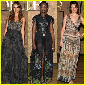 Jessica Alba, Lupita Nyong'o, & Shailene Woodley Are Dior Darlings in Morocco!