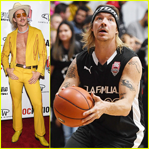 Diplo Is Cowboy at Roc Nation's Roc Da Court All-Star Basketball Game, Releases New Song 'So Long'!