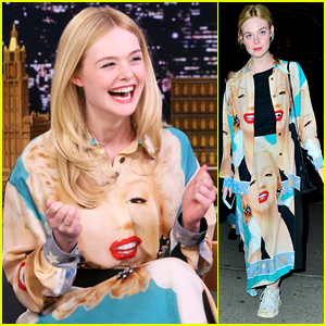 Elle Fanning Shows Off Her Speed Singing Talents on 'Fallon'