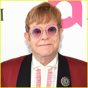 Elton John Uses Wheelchair After Announcing Sprained Ankle