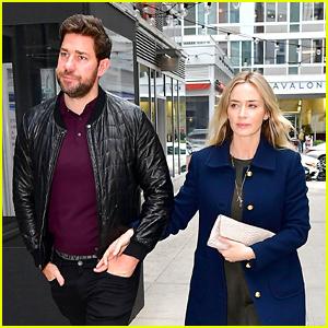 Emily Blunt & John Krasinski Couple Up for Date Night in NYC!