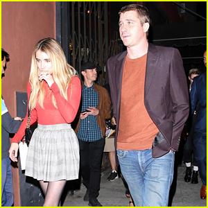 Emma Roberts & Garrett Hedlund Do Dinner in Los Feliz
