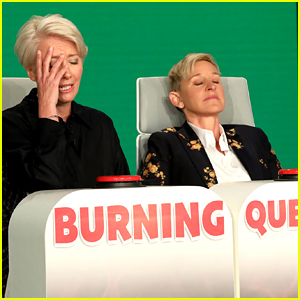 Emma Thompson's 'Burning Questions' Round with Ellen is So Uncomfortable