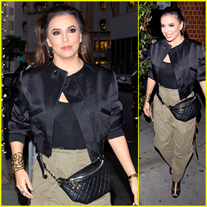Eva Longoria Heads to Dinner With Husband Jose Baston & Mom in Beverly Hills