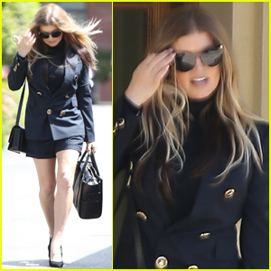 Fergie Heads to Easter Church Service in L.A.