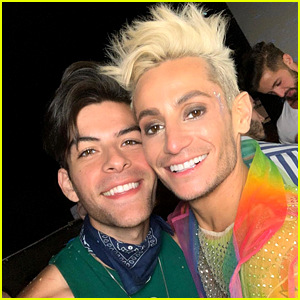 Frankie Grande's New Boyfriend Joins Him at Coachella! (Photos)