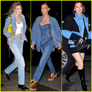 Gigi & Bella Hadid, Hailee Steinfeld, & More Attend Gigi's Birthday Party!