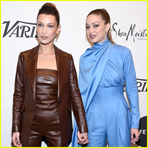 Gigi Hadid Gives Emotional Speech at Variety's Power Of Women Event: 'Be a Voice for Someone' (Video)
