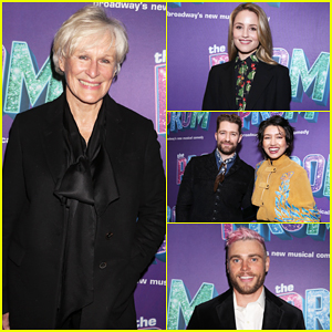 Glenn Close, Dianna Agron & More Celebrate Broadway's 'The Prom' at Ryan Murphy's Benefit Performance!