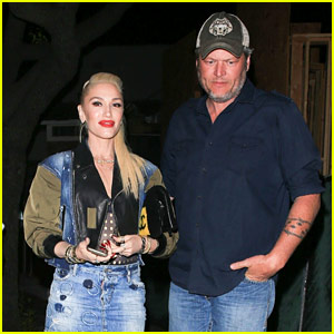 Gwen Stefani & Blake Shelton End Their Weekend with a Date Night!