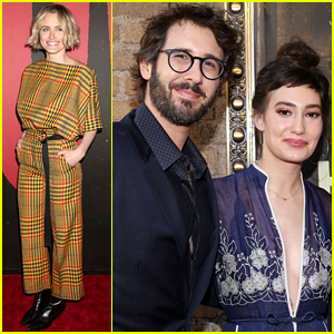 Taylor Schilling, Josh Groban, & More Check Out Broadway's New Hit 'Hadestown' on Opening Night!