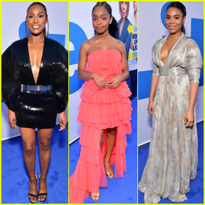 Issa Rae, Marsai Martin, & Regina Hall Go Glam for 'Little' Premiere