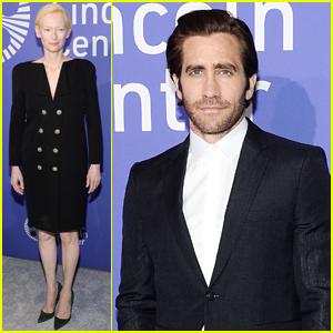 Jake Gyllenhaal & Tilda Swinton Help the Film Society of Lincoln Center Celebrate 50th Anniversary!