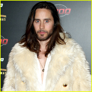 Jared Leto Shows Off Incredible Abs While Eating Birthday Cake