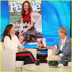 Jennifer Garner Addresses Pregnancy Reports on 'Ellen': 'I'm 47. We've Wrapped It Up'