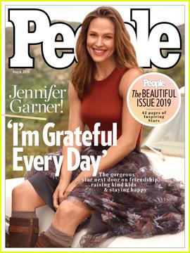 Jennifer Garner Covers People's Beautiful Issue 2019!