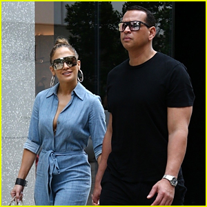 Jennifer Lopez & Alex Rodriguez Join Family for Saturday Afternoon Lunch in Miami