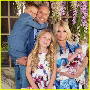 Jessica Simpson Shares First Family Photo with Baby Birdie for Easter!