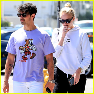 Joe Jonas & Sophie Turner Couple Up for Lunch in WeHo