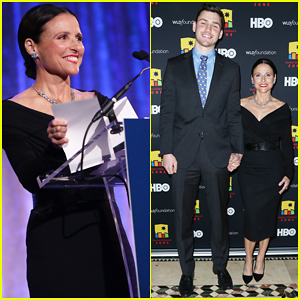 Julia Louis-Dreyfus Gets Support from Son Charlie at Harlem Children's Zone Dinner!
