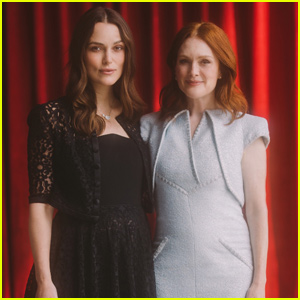 Keira Knightley & Julianne Moore Step Out For 'Chanel's Mademoiselle Privé Exhibition