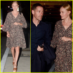 Kate Bosworth & Michael Polish Couple Up for Date Night in WeHo!