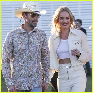 Kate Bosworth & Husband Michael Polish Hold Hands at Coachella 2019