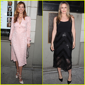 Kate Walsh & Alicia Silverstone Support Opening Night of 'Ink' on Broadway!