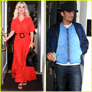 Katy Perry & Orlando Bloom Enjoy a Dinner Date in Beverly Hills