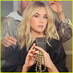 Katy Perry Ditches Pixie Cut, Debuts Long Blonde Locks!