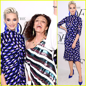 Katy Perry Honored with Inspiration Award at DVF Awards 2019!