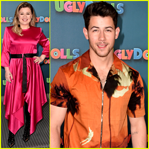 Kelly Clarkson & Nick Jonas Team Up to Promote 'UglyDolls'