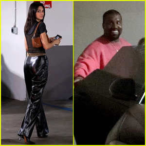 Kendall Jenner Joins Kanye West & Kourtney Kardashian for an Evening Church Session