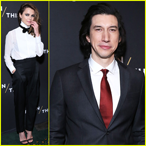 Keri Russell & Adam Driver Celebrate 'Burn This' Opening Night!