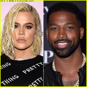 Khloe Kardashian & Tristan Thompson Reunite at True's Birthday Party (Video)