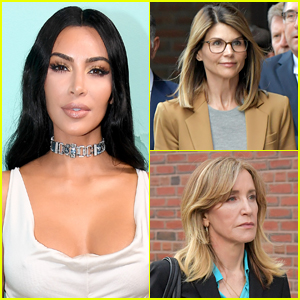Kim Kardashian Reacts to College Admissions Scandal, Says She'd Never Abuse 'Privilege' in That Way