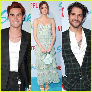 KJ Apa, Maia Mitchell, & Tyler Posey Premiere Netflix's 'The Last Summer!'