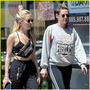 Kristen Stewart & Girlfriend Sara Dinkin Showcase Their Fit Physiques