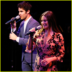Lea Michele & Darren Criss Perform Together at Center Theatre Group's 'A Grand Night' Benefit